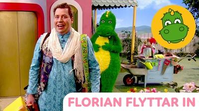 Florian flyttar in