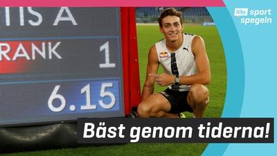 Duplantis slog utomhsrekordet i stavhopp!
