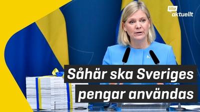 Såhär ska Sveriges pengar användas