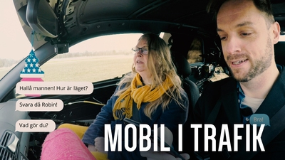 Mobil i trafik