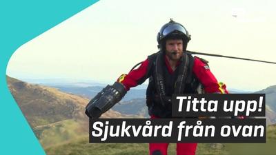 Flygande dräkt ska rädda liv