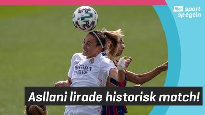 Barca vann första EL Clasico någonsin på damsidan!