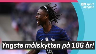 17-årige Camavinga målskytt för Frankrike