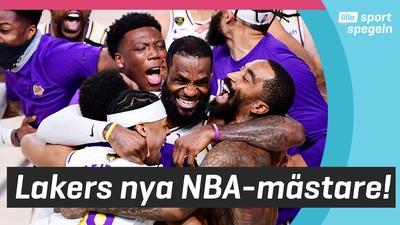 Stjärnan LeBron James ledde Lakers till titeln!