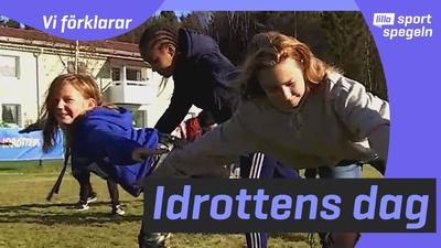 Därför finns idrottens dag i Sverige!
