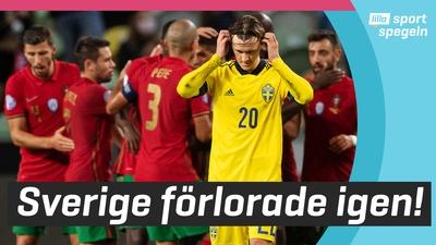 Janne Andersson arg efter Sveriges förlust