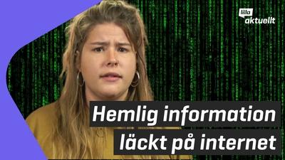 Hemlig information läcktes i Finland
