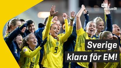 Sverige till fotbolls-EM!