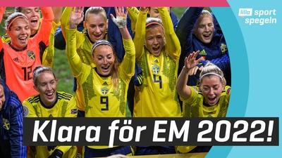 Sverige är klart för fotbolls-EM 2022!