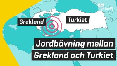 Stor jordbävning i Egeiska havet