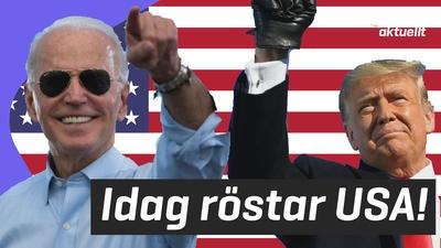 Val i USA!