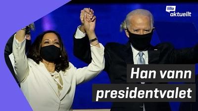 Joe Biden utropad segrare i USA-valet