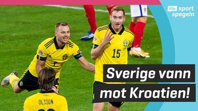 Kulusevski målskytt när Sverige vann!