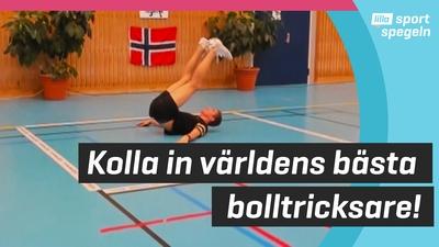 Norske Erlend vann VM i freestyle-fotboll!
