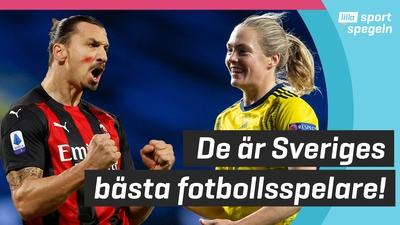 Zlatan & Magdalena Eriksson bäst i Sverige!