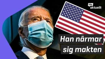 Joe Biden allt närmare Vita huset