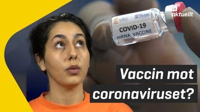 Vaccinering mot corona kan börja vid årsskiftet