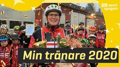 """Årets """"Min Tränare"""" 2020 - Malin Bengtsson!"""