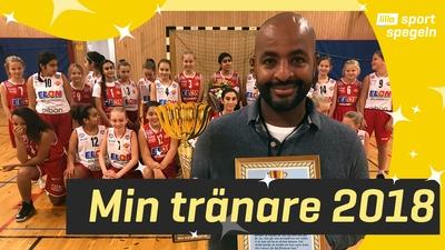 """Sirak Mogues årets """"Min tränare"""" 2018"""