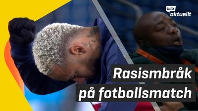 Fotbollsmatch ställdes in på grund av rasism