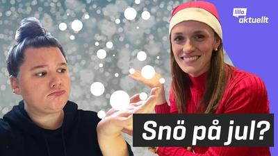 Ska det vara snö på jul?