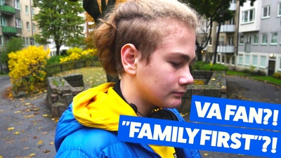 "Hampus – Va fan?! ""Family First""?!"