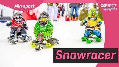 Alice tävlar i Snowracer Cup!