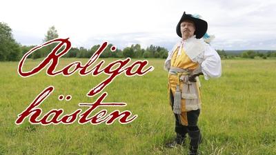 """Gustav II Adolf och hans """"häst"""" gör tokiga saker på stan"""