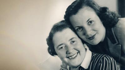 Blomman Steinmann och dottern Ingrid Kaplan (1930-talet).