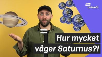 Vad väger Saturnus?