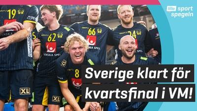 Sverige ångar på i Handbolls-VM!