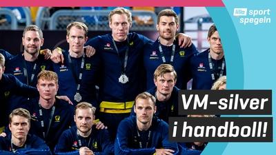 Svenska handbollsherrarna näst bäst i världen!