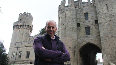 Phil Spencer vid Warwick Castle
