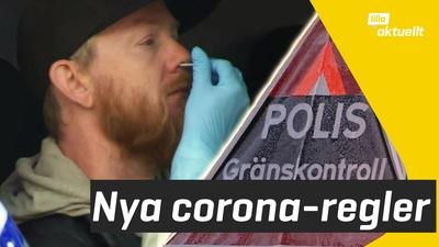 Nu krävs coronatest för att komma in i Sverige