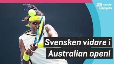 Mikael Ymer vidare i tennisturneringen Australian Open