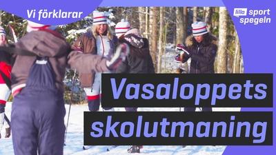 Vi träffar årets Vasaloppsklass - Vågen från Degerfors!
