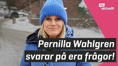Vi träffar Pernilla Wahlgren!