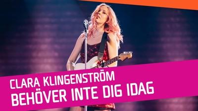 Clara Klingenström – Behöver inte dig idag