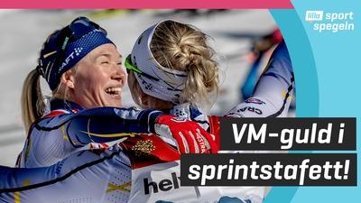 VM-guld för Sundling och Dahlqvist i sprintsatefett!