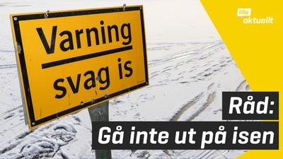 Många isolyckor i Sverige