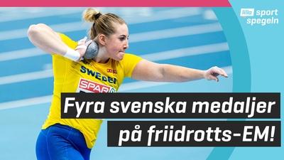 Fin insats av Sverige på fridrotts-EM