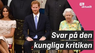 Kungahuset svarar efter uppmärksammade intervjun