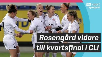 FC Rosengård klara för CL-kvartsfinal