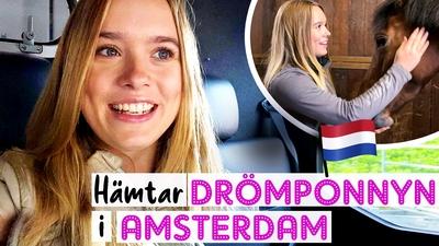 7. Hämtar drömponnyn i Amsterdam