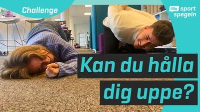 Testa nya challengen: händerna-på-ryggen