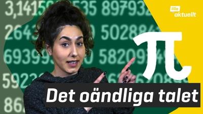 Elever tävlar om vem som kan flest siffror i pi