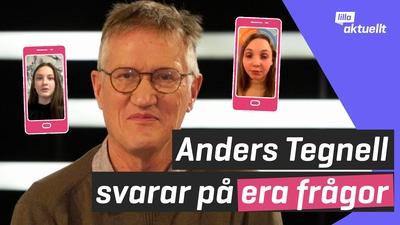 Anders Tegnells svar på era frågor