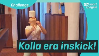 Kolla in när ni gör toarulle-challengen!!