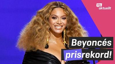 Beyoncé prisad på Grammy-galan