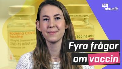Hur går det med vaccineringen i Sverige?